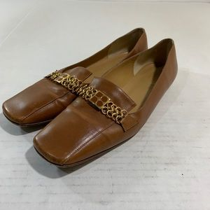 Kate Spade Leather Slip On Loafers Logo 8